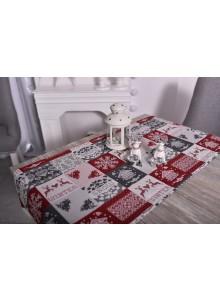 Bieżnik świąteczny renifer