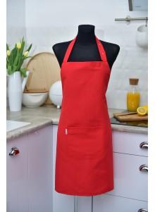 Fartuszek kuchenny czerwony