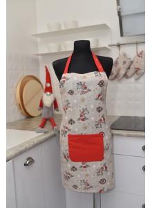 Fartuszek kuchenny reniferek