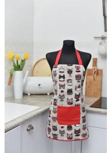 Fartuszek kuchenny w koty